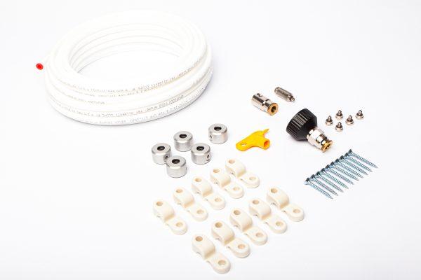 Sistem dezinfectie / Kit racire terase CLIMEXT cu pulverizare apa sub forma de ceata, 6duze